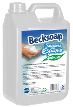 Becksoap Sabonete em Espuma -   - Industrias Becker