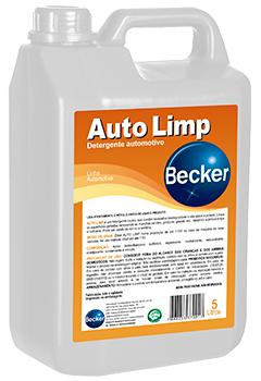 Auto Limp – detergente automotivo -   - Industrias Becker