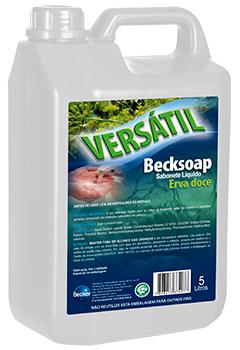 Versátil Becksoap Sabonete Líquido -  erva doce - Industrias Becker