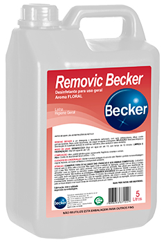 Removic Becker Desinfetante - FLORAL - Industrias Becker