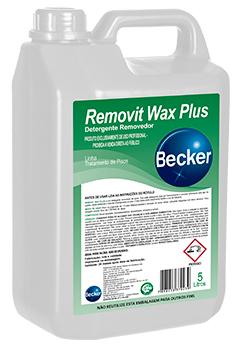 Removit Wax Plus – Detergente Removedor -   - Industrias Becker
