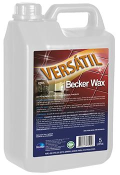 Versátil Becker Wax -   - Industrias Becker