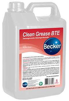 Clean Grease BTE -   - Industrias Becker